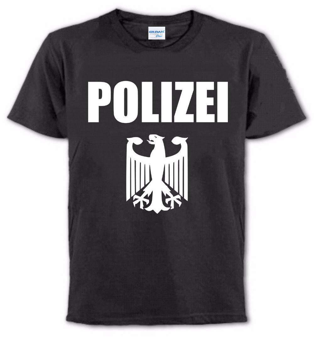 Nouveau mode hommes T-Shirt pour hommes créer votre propre T-Shirt de Police T-Shirt, policier Toutes Les Tailles T-Shirt