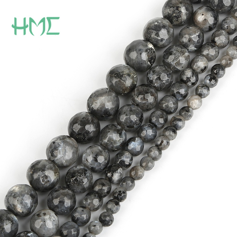2018 Hot Selling Dia 46810mm Natural Moonstone Round Ball Beads for DIY Necklace Bracelet Jewelry Making Findings