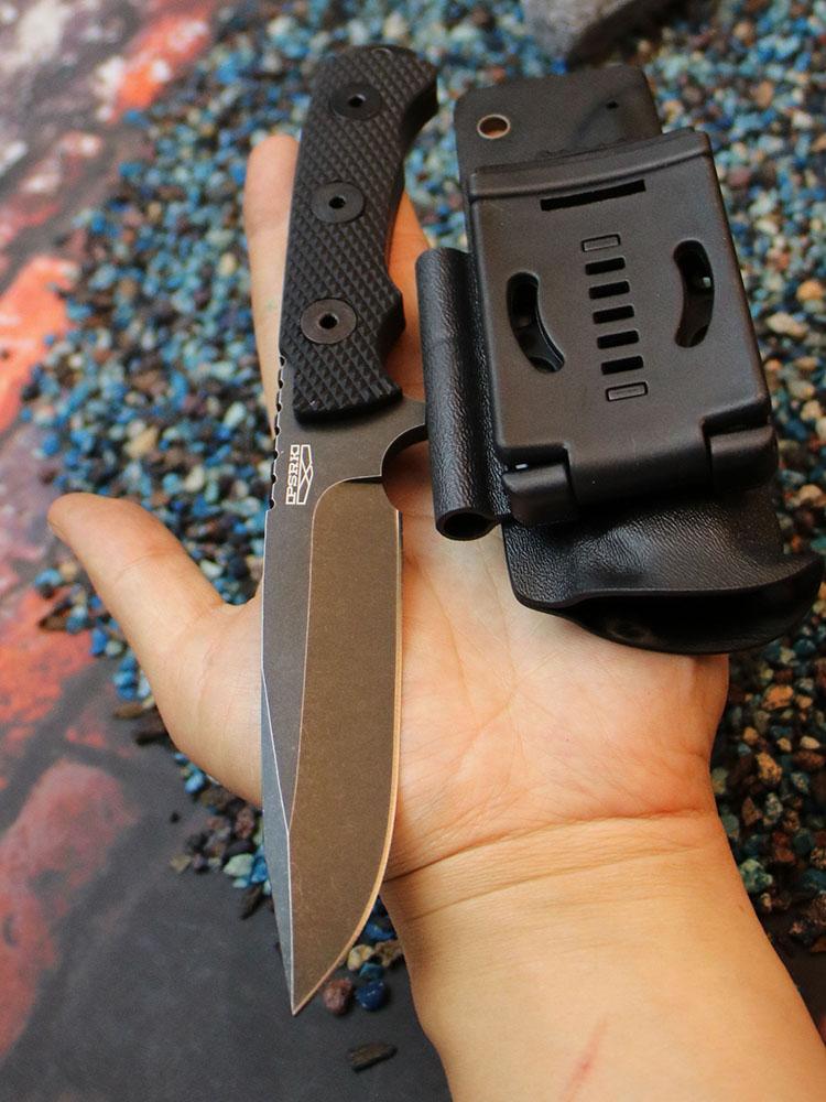 PSRK nóż matou 60HRC Wysokiej jakości ostrze YTL8 G10 uchwyt - Narzędzia ręczne - Zdjęcie 2