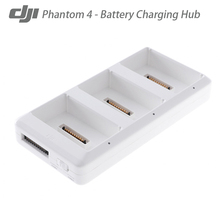 100% Original DJI Phantom 4 Intellgent lipo Battery Chargering Hub Manager 3-in-1 for DJI Phantom 4 Free shipping