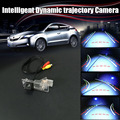 Intelligent Dynamic trajectory Sport License Camera Rear View Backup Parking For Dacia Lodgy / For Renault Lodgy 2012~2016