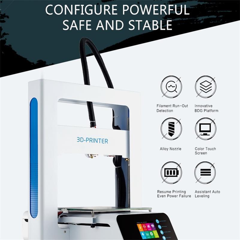 Imprimante 3D mise à jour des rampes Prusa avec une grande taille de construction, expédier directement de l'usine