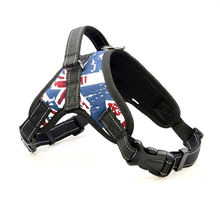 Pet Hot Sale Reflective Rope Nylon Handle Adjustable Large Dog Harness For Small Medium Animals