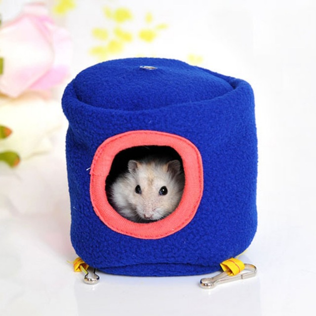 Hanging Bed Toy House Hammock for Ferret Rabbit Rat Hamster Parrot Squirrel 10cm X 10cm