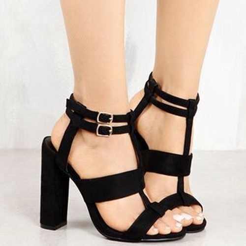 แพลตฟอร์มรองเท้าแตะรองเท้าผู้หญิงฤดูร้อนสไตล์ส้นสูงเปิด Toe แพลตฟอร์ม Gladiator รองเท้าแตะ Wedges รองเท้าผู้หญิง