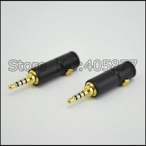 Image 1 - 2pcs 4poles 2.5MM stereo Male Repair headphone Jack Plug Metal Audio Soldering