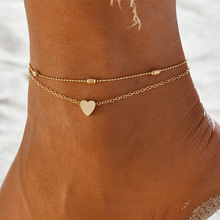 Miss JQ Fashion Women Multilayer round coin Chain Anklets Set Exquisite Lady Beach Party Gold Color Ankle Jewelry Accessories