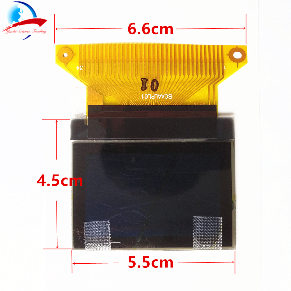 34 Pin Dashboard Panel Display instrument cluster display LCD screen for Audi A3 A4 A6 VW