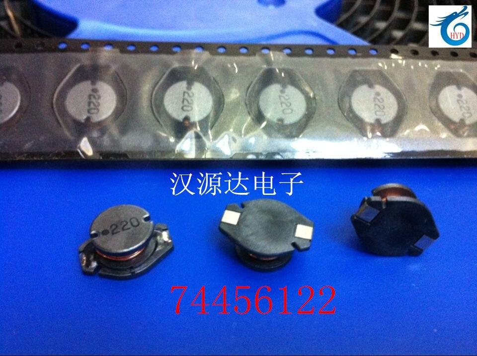 74456122 DO3316 220 22UH 3 1A 12 7X10X5MM WURTH SMD Power