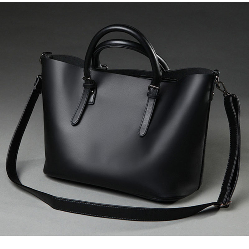 Tote Bag Bolso Mujer Negro 2016 Fashion Hobos Women Bag Ladies Brand Leather Handbags Spring Casual  Big Shoulder Bags For Woman new brand pu leather bags handbags women famous brands big women s casual tote bag spanish brand shoulder bag ladies bolso mujer