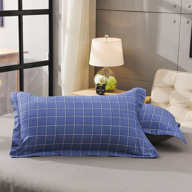 4pcs Cotton Bedding Set Queen Size King Size Bedclothes with Duvet Cover Bed Sheet Set Wedding Bedding Sheets Strip Bed Linen