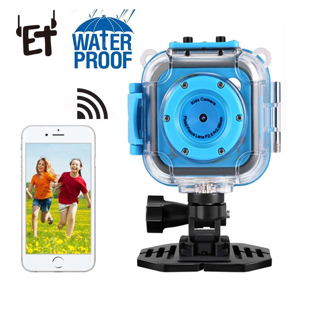 Mini caméra étanche extérieure WIFI caméra sous-marine Kid caméras de natation 720 P Portable 20 M étanche Photo vidéo prise de vue