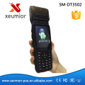 Wireless Rugged PDA Android Wifi Data Collector Handheld Terminal with Printer SM-DT3502