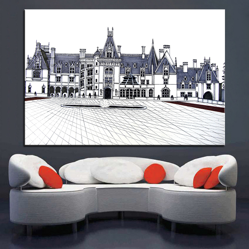 Popular Estate Painting-Buy Cheap Estate Painting Lots