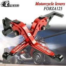 2010-2019 Motorcycle Motorbike Accessories Handlebar Brake Clutch Levers For Honda FORZA 125 2011 2012 2013 2014 2015 2016 2017