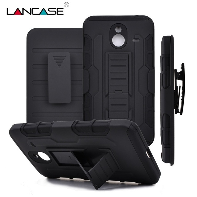 best website a7c84 6f5c8 US $6.17 |For Nokia Lumia 640 XL Case 3in1 Combo Shockproof Armor Case For  Microsoft Nokia Lumia 640XL N640XL Belt Clip Stand Phone Cover on ...