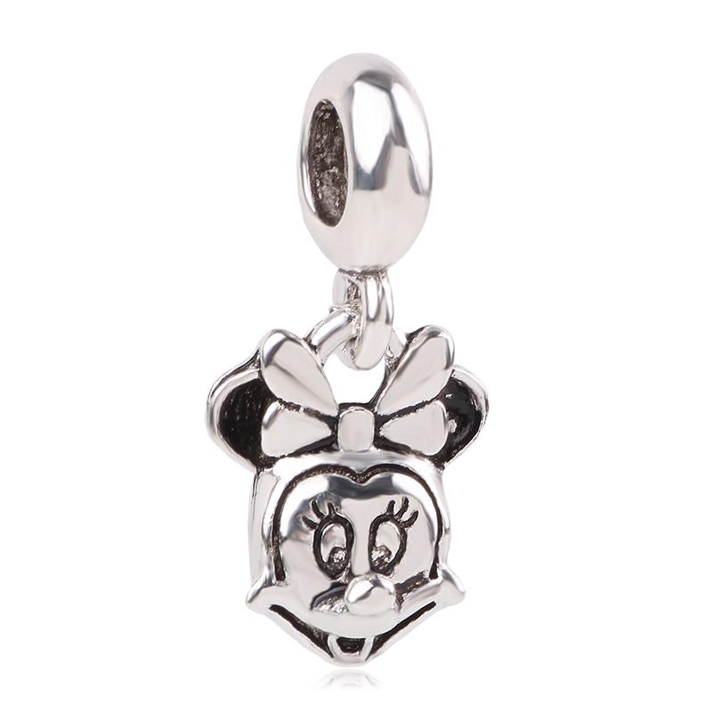 Новинка,,, бусинка из ленты, Микки Маус, сказка, Дамбо, любовь, шарм, подходит для Пандоры, браслет, ожерелье, сделай сам, женское ювелирное изделие, подарок - Цвет: K271