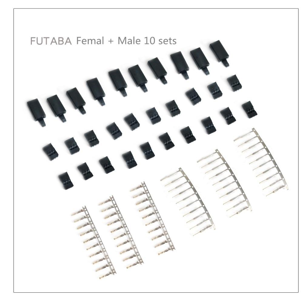10pcs 3Pin 50cm Male to Female Servo Erweiterung Cord Lead Draht RC AIP