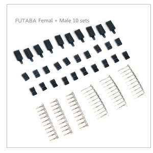 10 Sets DIY 3 Pin Servo Plug S