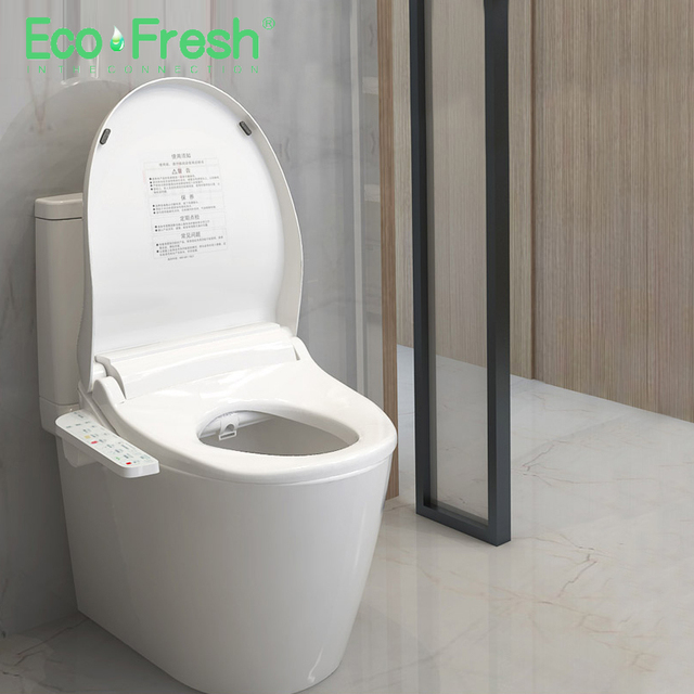 Fabulous Us 269 99 10 Off Ecofresh Smart Toilet Seat Washlet Electric Bidet Cover Intelligent Bidet Heat Clean Dry Massage Care For Child Woman The Old In Lamtechconsult Wood Chair Design Ideas Lamtechconsultcom