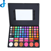 Fashion 78 Color Eye Shadow Palette Cosmetics Colorful Shimmer Matte Make Up Colored Professional Makeup Eyeshadow