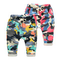 New Fashion Children's Clothing Kids clothes baby Boy Gilrs Camouflage Long PP Harem Pants Children's Sport Camo Cargo Trousers