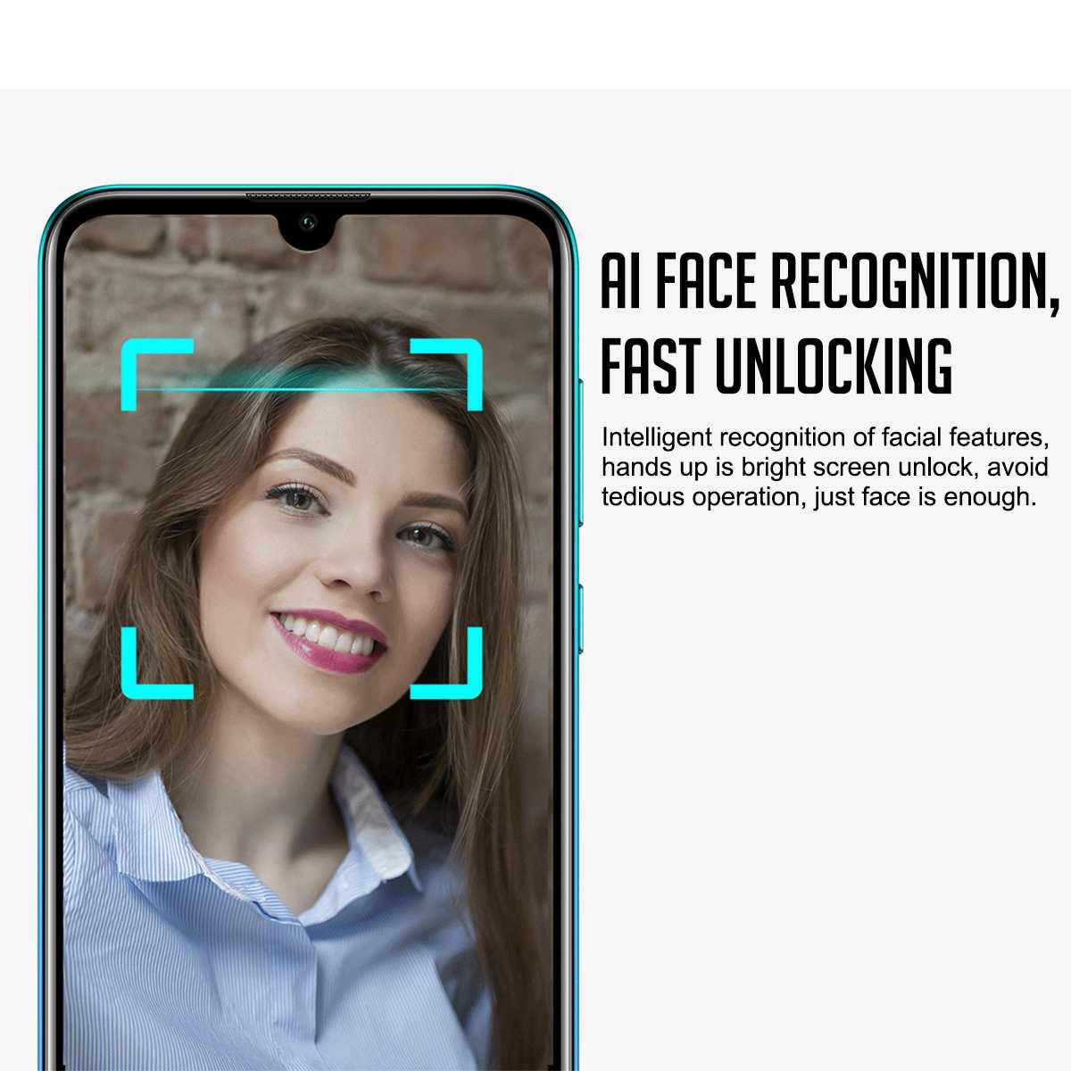 Huawei profiter de 9 téléphone intelligent 3 + 32G 6.26