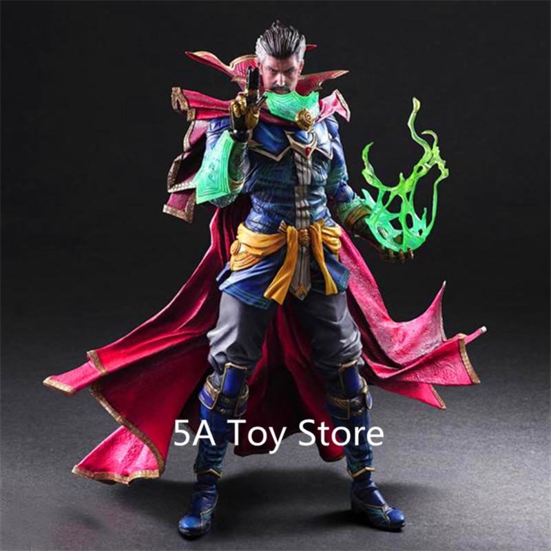 Play Arts Kai Universe Avengers Infinity War Doctor Strange PVC Action Figure Collectible Model Toy play arts kai kingdom hearts roxas pvc action figure collectible model toy
