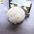 Retail Wedding Holiday Fascinator Lace Hat For Women French Veiling Hair Headband Vintage Fashion Lady Party Accessory 68006