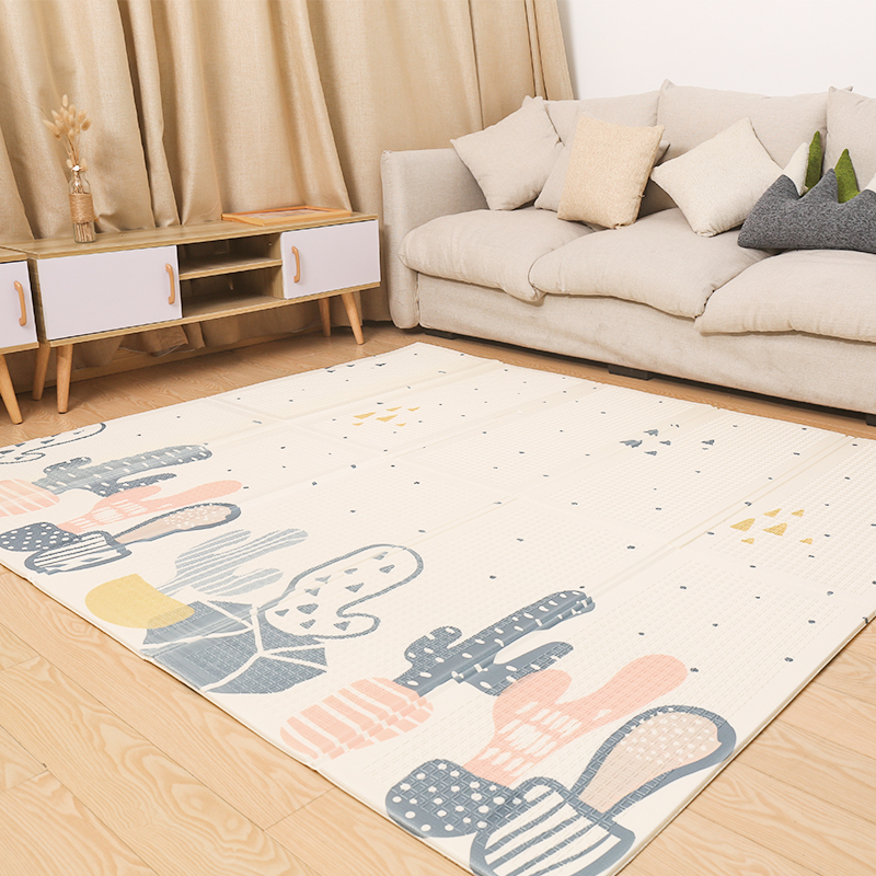 HTB1ozpXaELrK1Rjy1zbq6AenFXam XPE Baby Play Mat Crawling Mat Double Surface Baby Carpet Rug Developing Mat for Children Game Pad Game Pad Children Room Decor