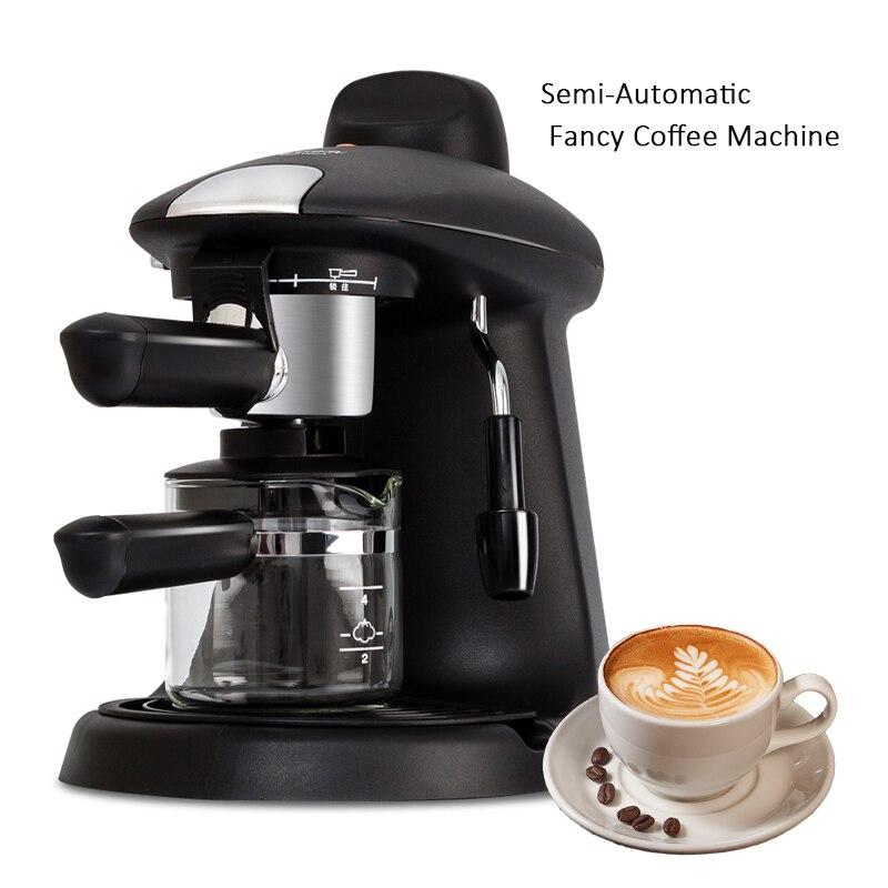 цена на Italian espresso machine coffee makers Semi-automatic fancy coffee machine Kitchen Mini medium household 5bar 220V TSK-1822A CE
