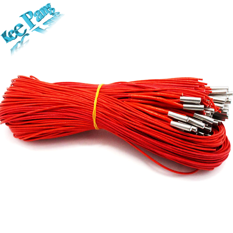 12V 40W Ceramic Cartridge Heater 6mm*20mm For Extruder 3D Printers Parts Heating Tube Heat 12V40W 1M Extrusion Part KINGROON
