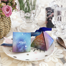 European candy box new Personality carton wedding starry sky gift wholesale party valentines day DIY 50pcs/set
