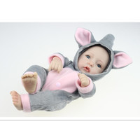 So Cute Silicone Reborn Dolls With Clothes Vivid 5 Style Lovely Lifelike Baby Reborn Doll 10