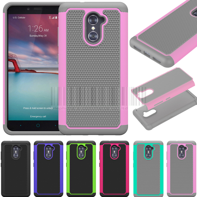 innovative design d8f86 a1fe4 US $2.62 30% OFF|Phone Case For ZTE Imperial Max Z963U/MAX DUO 4G LTE/ZTE  Grand X Max 2 Anti shock PC+Silicone Hybrid Armor Protective Case Cover-in  ...