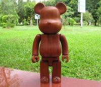 High Quality 100 7cm 200 14 5cm 400 28cm Bearbrick Be Rbrick Made W Red Wood