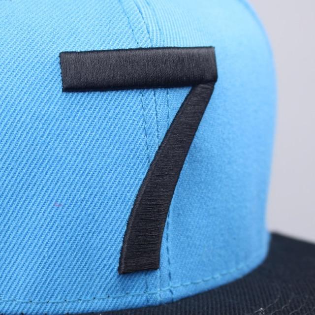 CR7 Sky Blue Caps 10