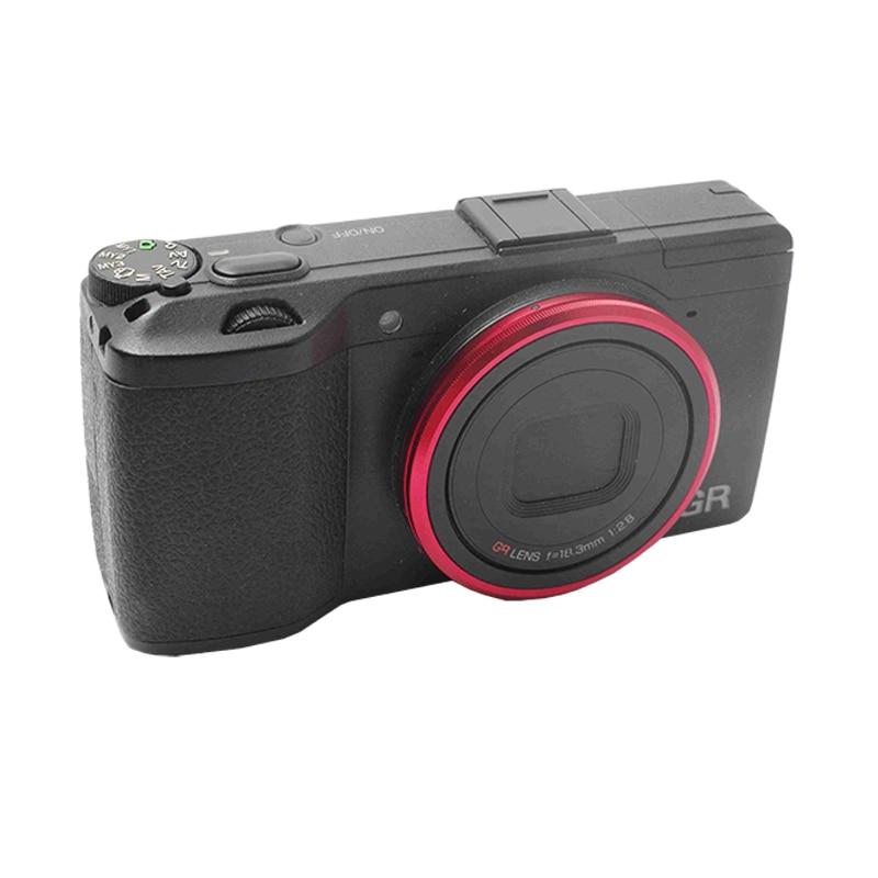 Original Red Lens Ring for Ricoh GR /GR II/GR2 LIMITED EDITION au6438 r61 gif gr r61 glf gr