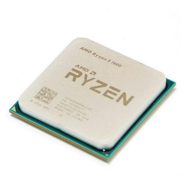 AMD Ryzen 5 1600 Processor 3 2GHz Six Core Twelve Thread 65W R5 1600 CPU Socket