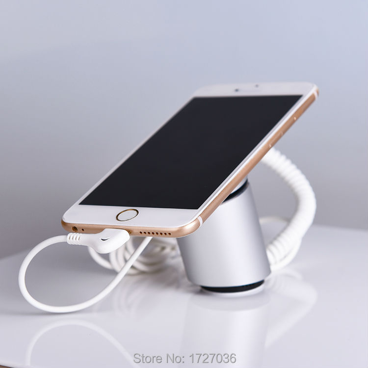 Cell Phone Security Anti-Theft Display Stand With Alarm And Charging Function For Mobile Phone Retail Store Exhibition 10pcs/lot wholesale price mobile phone anti theft alarm display stand with charging for exhibition