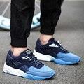 Nueva Llegada de Los Hombres Atan Para Arriba Los Zapatos de Moda Casual de Cuero Color Mezclado Tendencia Classic Flat Zapatos de Lona Superiores Zapatillas Entrenadores Hombre