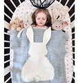 Baby Blanket Pink White Cute Rabbit Gray For Bed Sofa Wool Blanket Children Mantas BedSpread Bath Towels Play Mat Gift 73*105