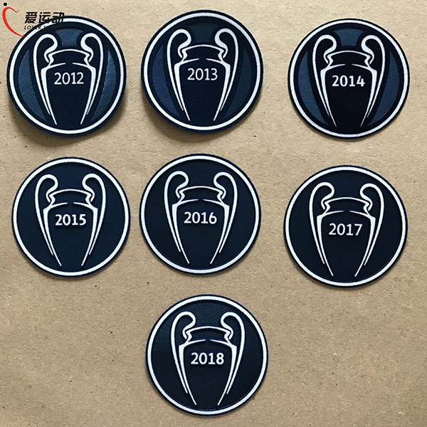 Respect 2008-2018 Patch Football Ligue Des Champions Starball