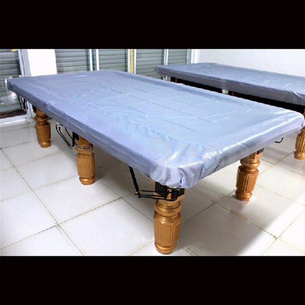 9 Foot Universal Waterproof Rectangular DustProof Cloth For Pool Table  Billiard Cover Tableclo Snooker Accessories Billiard