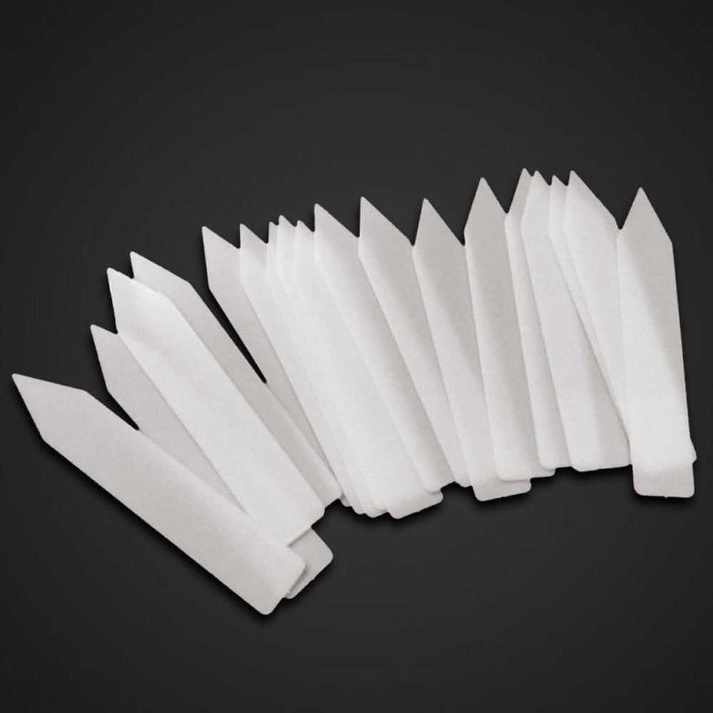 100pcs Plastic Flower Plant Name Tag Garden Markers Gardening Name Tags Labels