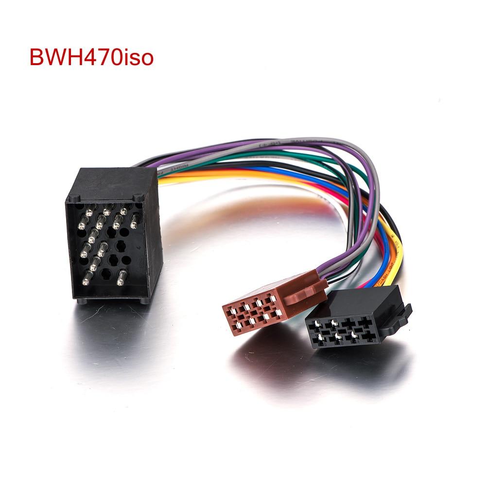 aliexpress com buy audio stereo iso standard wiring harness for rh aliexpress com BMW E46 Wiring Harness BMW E36 Radio Wiring
