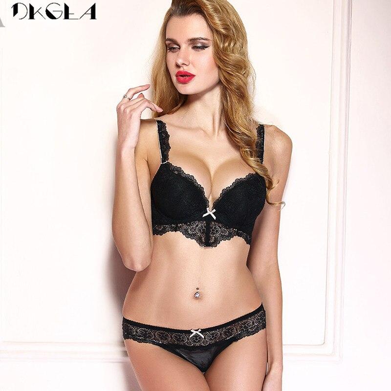 0b84a9bed Comprar Marca Hot Lingerie Sexy Conjunto Sutiã De Renda V Profundo ...