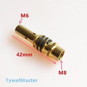 Image 5 - 15AK Đèn Pin Hàn Vật Tư Tiêu Hao Nào EU Phong Cách 180A MIG Đèn Pin Kim Phun Xăng Đầu Giá Đỡ Súng Cổ Cờ Lê Cho Máy Hàn MIG