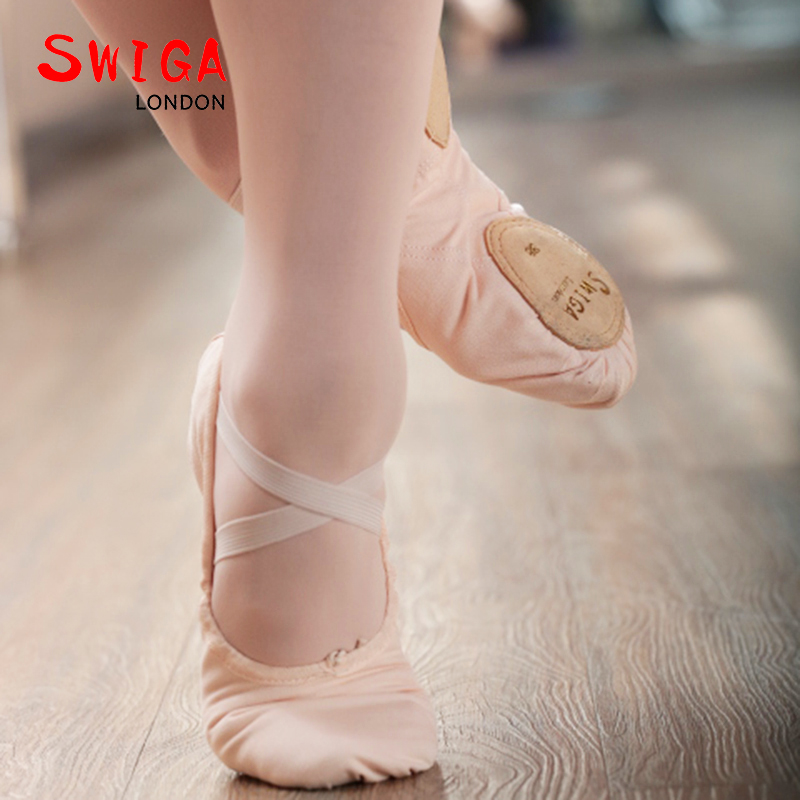 SWIGA cotton professional ballet dance shoe