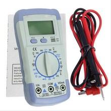 1 UNID A830L LCD Multímetro Digital AC DC Del Amperímetro Del Voltímetro Ohmmeter OHM Capacitancia Tester Freguency Multitester VEH64 P50